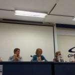 Mesa de abertura do Fórum de Supervisão